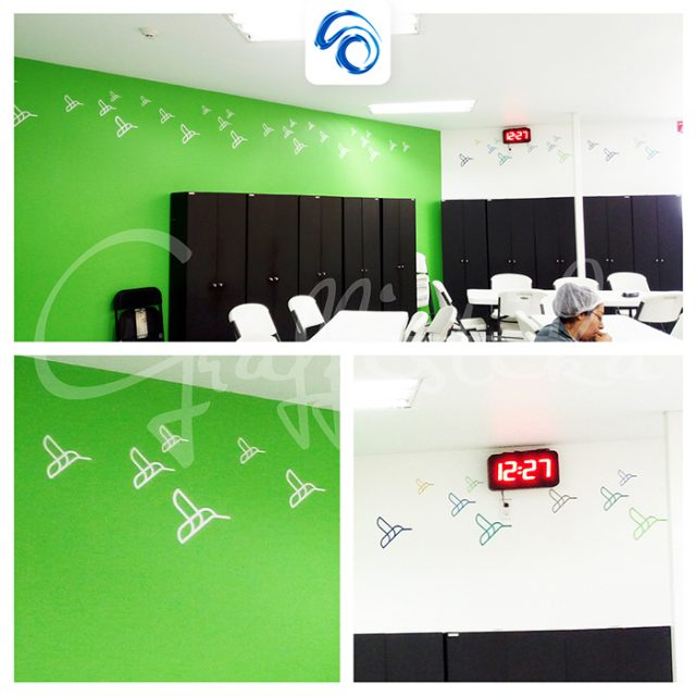 Diseño de interiores para comedor operativo vista2
